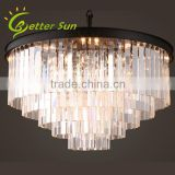 NEW Modern 5 Tiers Decoration Crystal Odeon Chandelier from China Supplier                                                                         Quality Choice