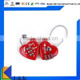 love heart shaped padlock/metal digital combination lock                                                                         Quality Choice                                                                     Supplier's Choice