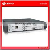 Genew NC5200B Enterprise integrated IP-PBX softswitch with redundant Main Process Unit and Power Supply