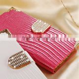 Hot selling western bling bling diamond crystal phone case mobile cover for Iphone 5 5S                                                                         Quality Choice