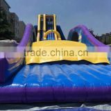 2016 new exciting inflatable products limit the flying slide jumper