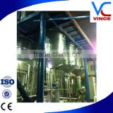 High Efficiency Stainless Steel Triple-Effect Falling Film Evaporator For Sugar Processing