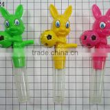 Football bunny whistle candy toys