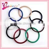 Hair accessories wholesale high elastic colorful rubber hair band