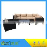 outdoor patio garden furniture rattan wicker corner cheap sectional sofa                                                                         Quality Choice