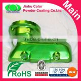 High gloss green candy color powder paints