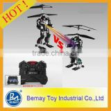 Newest Cartoon 2.5 Channel infrared rc fighting robot toys built in GYRO,RC battle robot,rc flying robot toy(248035)