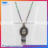 Tassel necklace pendant bead beaded fringe turkish