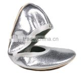 Charming girl ballet flats shoes new product after party shoes-portable and foldable cozy ballet flats shoes