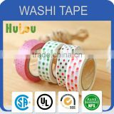 famous branded christmas decorative dot washi paper tape
