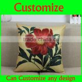 Funny cute black hat with hair design 100% cotton sublimation pillow with piping, pillow case with piping