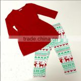 Children clothing sets girl tunic dress knitted christmas outfits for kids                                                                         Quality Choice                                                     Most Popular