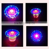 hot sell flashing led spinning top