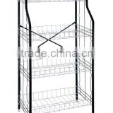 Modern Style 4-Tier metal kitchen dish shelves