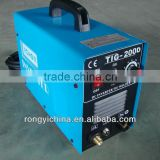 Shanghai Rongyi Mosfet Inverter Dual Voltage 110 & 220V TIG argon welding machine price TIG200D