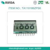 Shenzhen liquid crystal display 7 segment lcd 3 digits