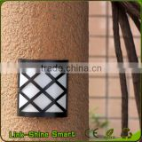 Led Solar Light Outdoor Waterproof Landscape Solar Panel 6 LED Fence Gutter Wall Solar Power Lamps