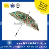 Aluminum Shaft EVA Handle Beautiful Straight Golf Umbrella