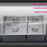 Chinese Brushed handmade kitchen sink