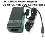 Universal Laptop charger 12V 3Amp switching power adapter