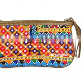 Vintage Gypsy Purses Banjara Clutch Bag Gypsy Embroidered Wallet