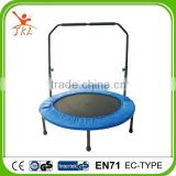 40inch hot sale mini foldable trampolin/trampoline with bar/handrail/handle/handlebar for sale