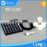 Home Application and Normal Specification portable small solar system home lighting
