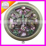 2013 new design metal compact mirror factory sell