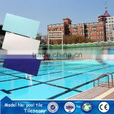 cheap outdoor water proof blue exterior swimming pool wall floor tiles
