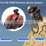 1080P Full HD Mini Action Helmet Camera /Extreme bike camera/Motocycle camera 20M Waterproof MTB Snorkeling Parachuting RC Toys