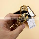 GT-151 gold dragon shake pulse electronic impulse lighter, USB Rechargeable windproof arc lighter