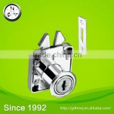 ISO certificate zinc alloy/Iron chrome/Black plated cabinet door lock / 202 drawer lock (DL202)