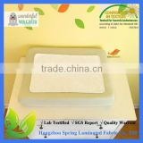 Thick 4-Layers -White Non-Slip Bamboo Changing Pad Liners