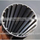 (manufacturer)wedge wire wrap screen pipe /Profile Wire Slotted Tubes