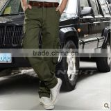 fashion latest design harem blue ripped chinos cargo latex pants