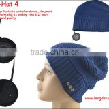 Wireless Bluetooth Hat Beanie Cap with Headphone and Speaker Built in