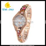 WJ-4785 bijou cheap price fashion beautiful Geneva quartz goldlis women watches