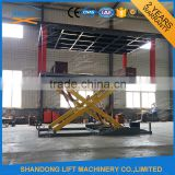 New product CE 2 level car parking equipment hydraulic garage car park lift