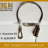 Galvanized steel led hanging cable wire rope sling for ceiling system