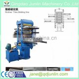 550*550 rubber brick tile press/ rubber flooring making machine