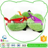 Hot-Selling Hot Quality Competitive Price Stuffed Animals Teenage Mutant Ninja Turtles Head Backpack