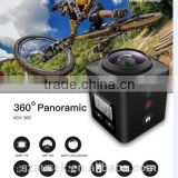 360 degree camera VR Mode sport action camera high resolution mini DV cam Waterproof 30M