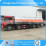FAW 8x4 30000 liters fuel oil tanker truck for sale