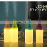 Cool Bottle 180ml USB Mini Humidifier Led Night Light Air Purifier Essential Oil Diffuser Aroma Mist Maker