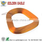 professional manufacture for computer hard disk induction coil / flat wire copper induction coil