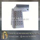 high accuracy balcony screen privacy screen,custom sheet metal decoration fabrication