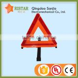 Manufacturer Promotional High Quality Car Emergency Warning Triangle Traffic Sign