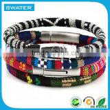 Jewelry Stainless Steel Magnetic Clasps Clasp For Rope Bracelets