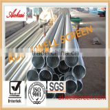 Reliable,high quality Johnson screen pipe casing slotted liner wedge wire for water filter mesh