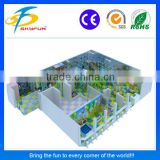Hot selling inflatable kid's playing soft play/games for kindergarten children/kids playground houses